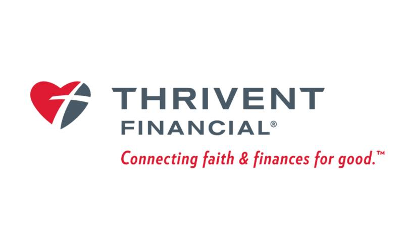 Thrivent Financial Logo- connecting faith and finances for good